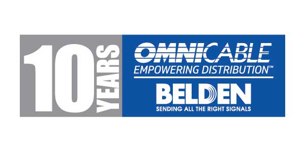 OmniCable and Belden Celebrate 10 Years of Partnership