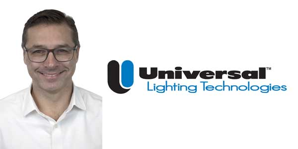 Jason Schaefer Joins Universal Lighting Technologies as Regional Sales Manager