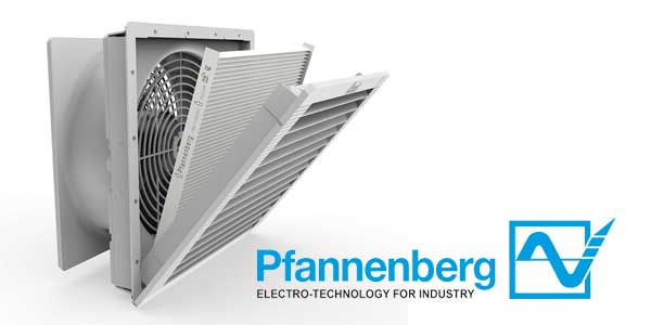 Pfannenberg Video Highlights Patented Features of PF Series Filterfans 4.0