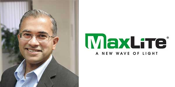 MaxLite Names Umesh Baheti Senior Vice President of Product Management, Engineering and Supplier Relations