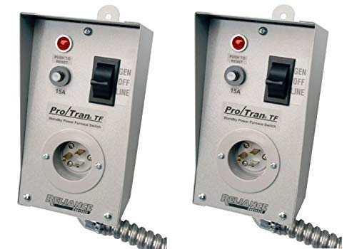 Reliance Controls TF151W Easy-Tran Transfer Switch for Generators