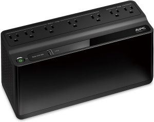 APC UPS BE600M1, 600VA UPS Battery Backup & Surge Protector