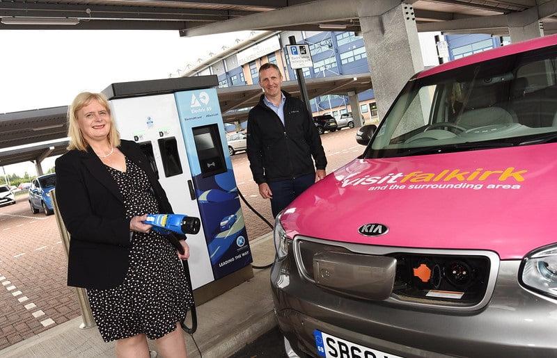 Falkirk EV Charging Hub