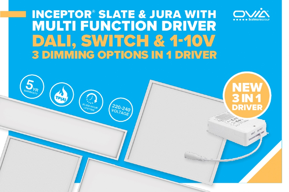 Ovia 3-in-1 dimming options