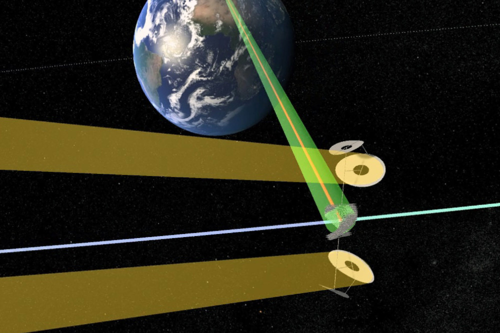 Solar Power Satellites Beaming Electricity to earth