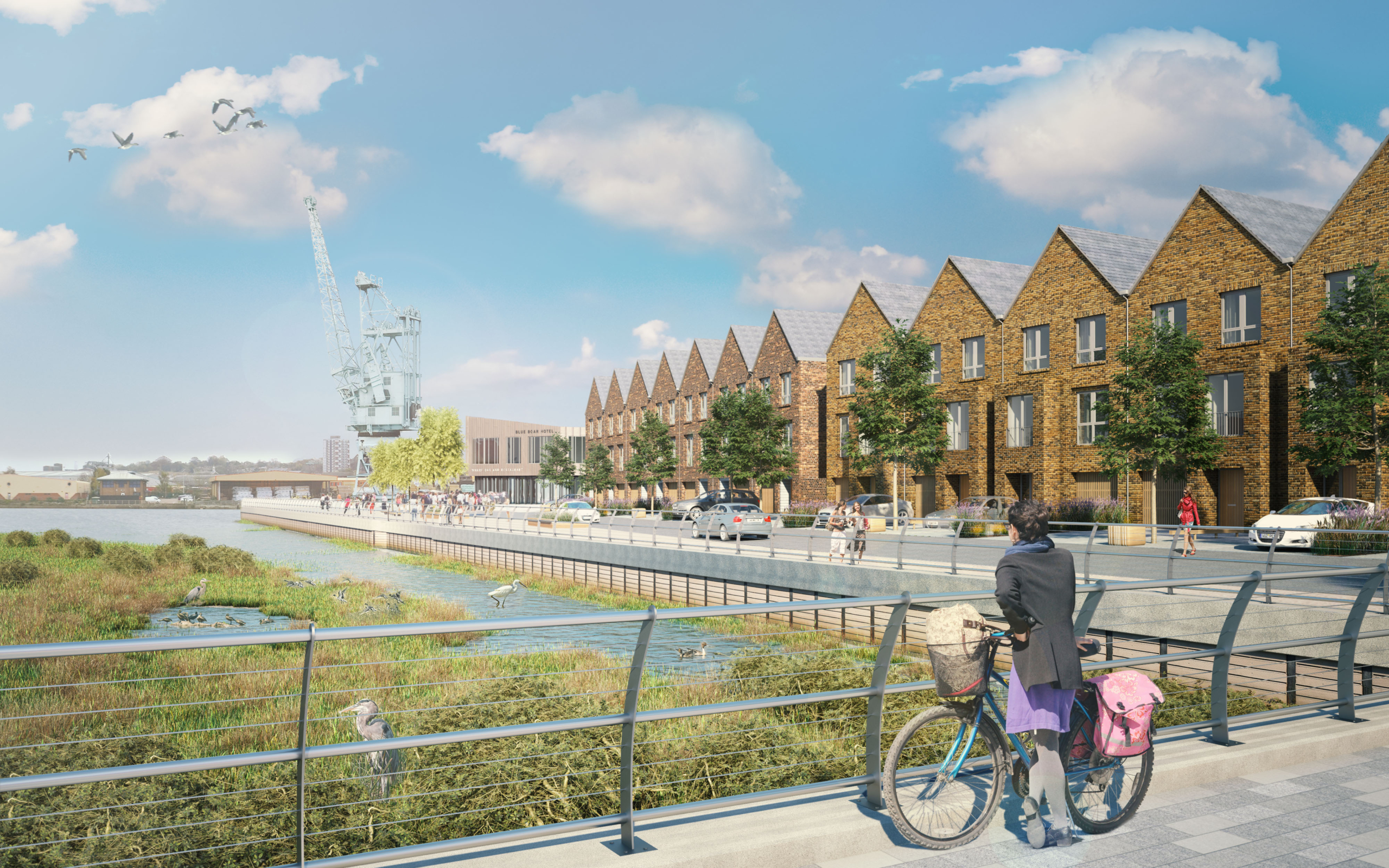 Rochester Riverside New Build Housing achieves high EPC