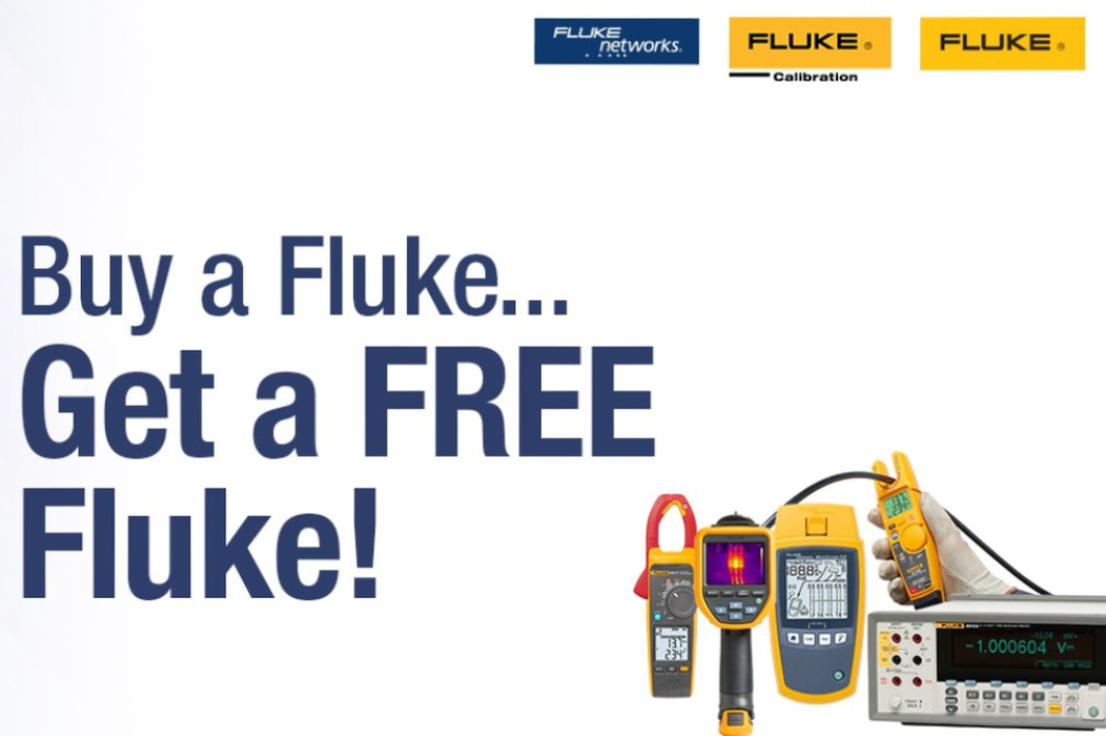 Buy A Fluke Get a Free Fluke Promotion