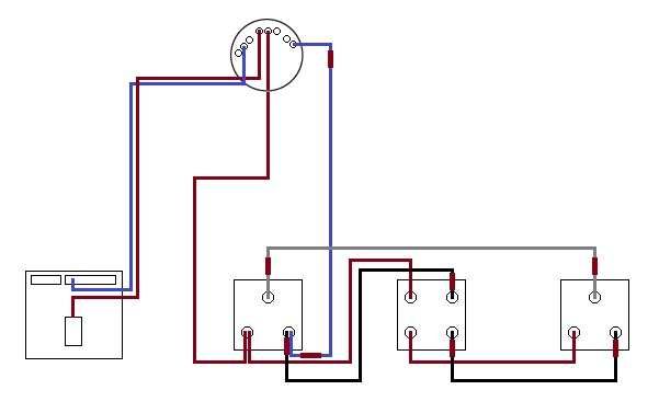 Wiring diagram two way and intermediate switch wiring diagram on two way switch intermediate Intermediate Switch UTV Point of Switch