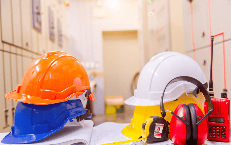different colors on hard hats meaning