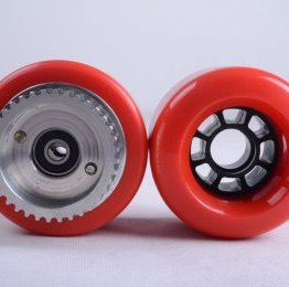 HillBillies Pro - Spares - PU wheel red