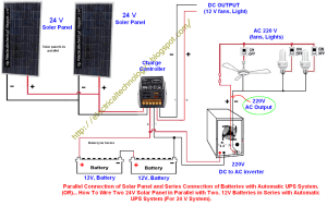 Wiring 12V Solar System  Pics about space