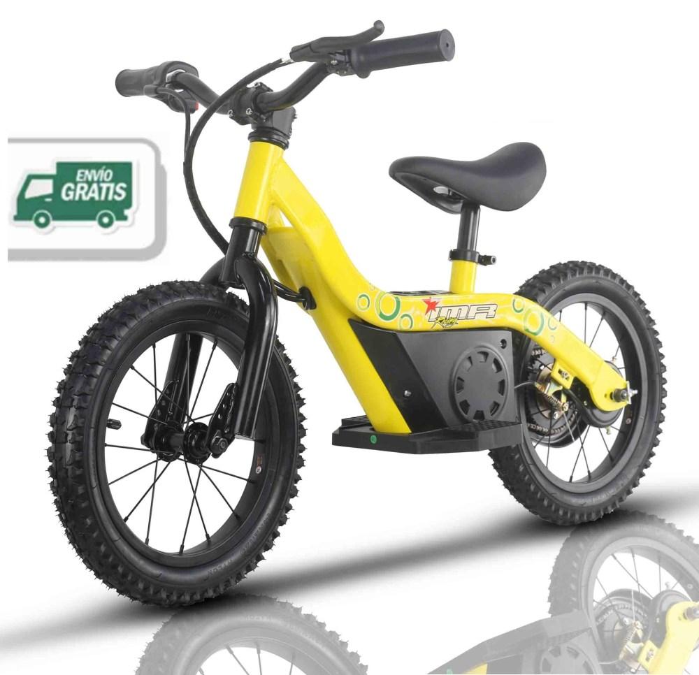 "Bicicleta eléctrica infantil 14"""
