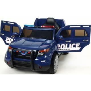 coche infantil eléctrico policía