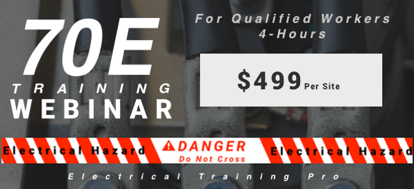 May 1st Webinar 70E Training