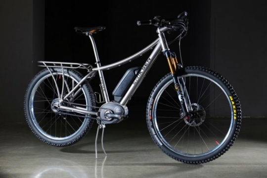 Custom Electric Bikes With Bosch Mid Drive Gates Belt