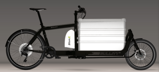 Bullitt electric cargo bike