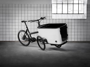 Butchers & Bicycles MK1 tilting electric trike.