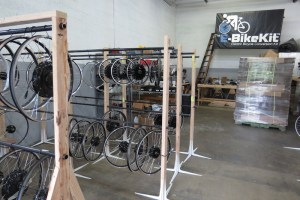 The E-BikeKit headquarters and assembly facility.