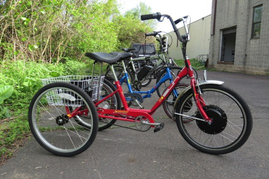 An trike with the ETrike Kit installed.