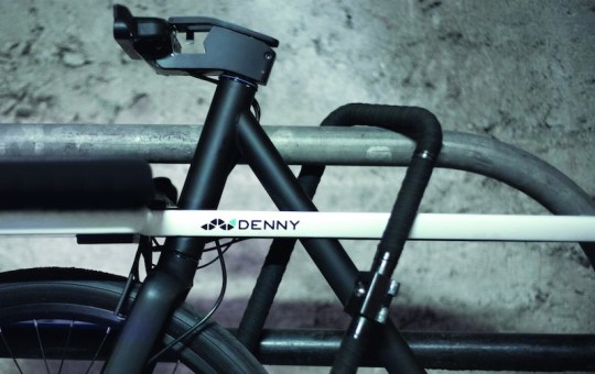 Denny electric bike handlebar lock