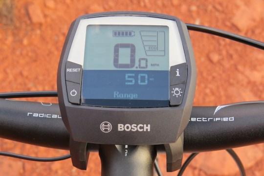 Haibike FS RX bosch display