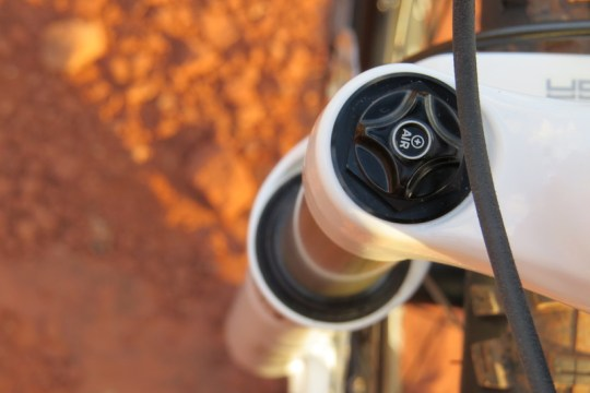 Haibike FS RX fork air