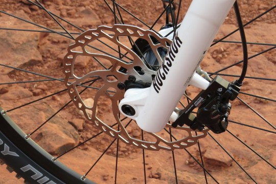 Haibike FS RX shimano disc brake