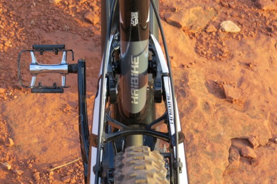 Haibike FS RX suspension 1