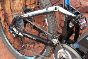 Haibike FS RX suspension