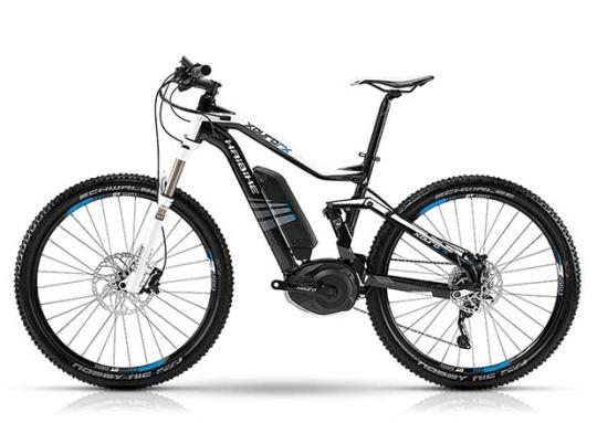 Haibike XDURO FS RX electric mountain bike.