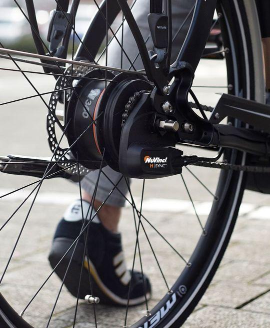 NuVinci H|Sync electric bike shifting.