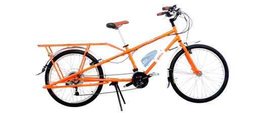 Yuba el Mundo electric cargo bike.
