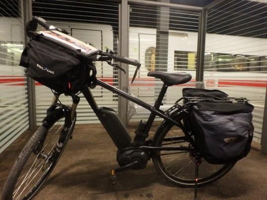 European electric bike tour riese muller