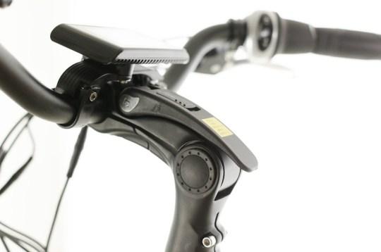 Optibike Pioneer Citi electric bike adjustable stem