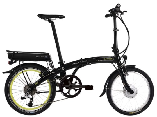 dahon ikon folding electric bike
