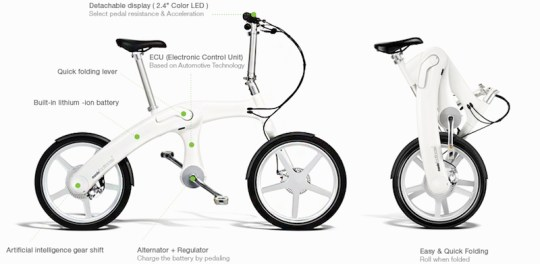 mando footloose folding electric bike