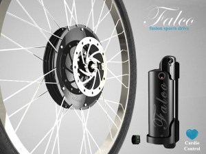 Falco Fusion Wheel Drive System with Cardio Control
