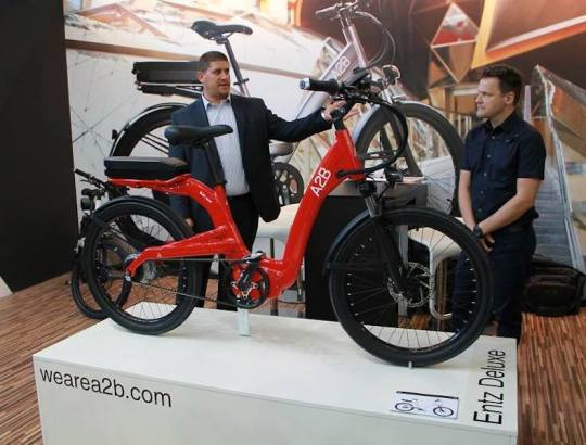 a2b electric bike eurobike