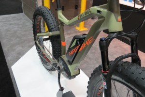 haibike fat six electric bike frame