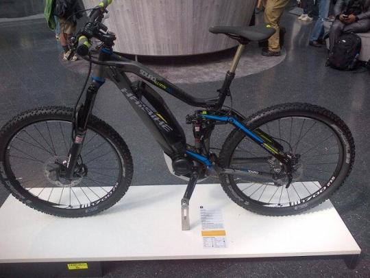 haibike sduro yamaha electric mountain bike eurobike