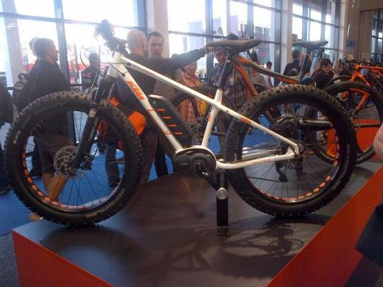 ktm fat electric bike eurobike