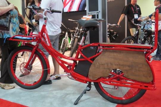 pedego stretch electric cargo bike