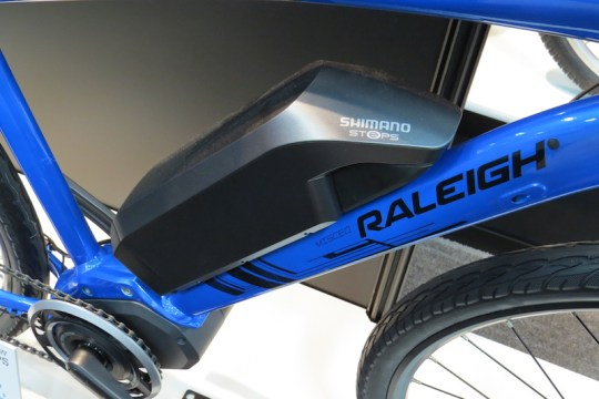 raleigh misceo shimano steps battery