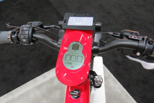 BESV Lion LX1 electric bike display