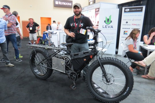 Madboy EV electric cargo fat bike