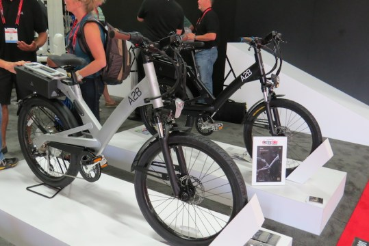 a2b alva plus shima electric bike