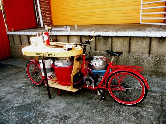 metrofiets ecospeed electric beer bike