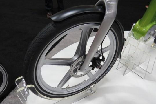 mando footloose electric bike front wheel