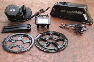 Dillenger Bafang mid drive kit