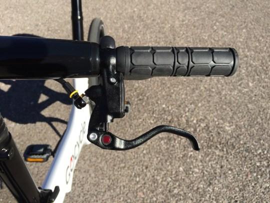 Gocycle brake lever